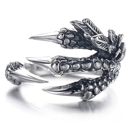 be7df03b1d88 EQLEF Anillo de Garras de dragón