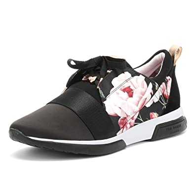 1d5eab886 Ted Baker Womens Iguazu Black Cepap 2 Trainers  Amazon.co.uk  Shoes   Bags