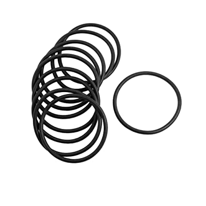 Uxcell Rubber Sealing Oil Filter O Rings Gasket 10 Piece Black