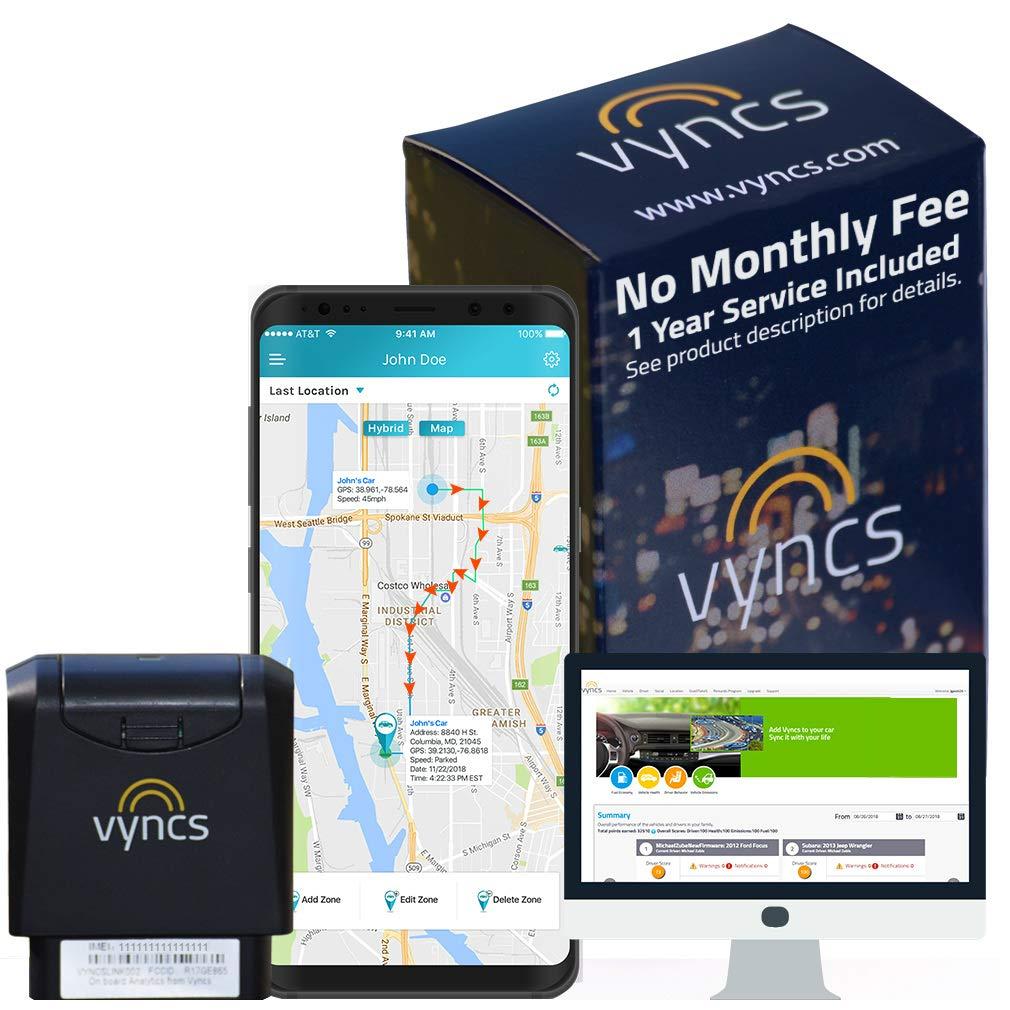 GPS Tracker Vyncs
