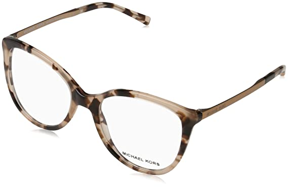 3e2d3cf5ab Image Unavailable. Image not available for. Color  MICHAEL KORS Eyeglasses  MK4034 ANTHEIA 3205 Pink Tortoise