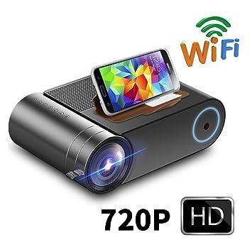 Inson Video proyector Pantalla de 150 Proyector 1080p con 3000 ...