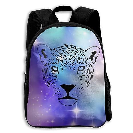 Jaguar Cat Cougar pantera Puma Leopardo escuela mochila niños impreso Oxford tela mochila bolsa