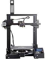 Comgrow Creality 3D Ender 3 Pro DIY Impresora 3D con Etiqueta Magnética de Cama Caliente y Dispositivo de Fuente de Alimentación con Certificación UL