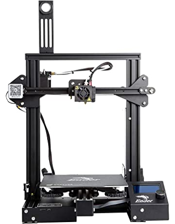Comgrow Creality Ender 3 Pro DIY Impresora 3D con Etiqueta Magnética de Cama Caliente y Dispositivo