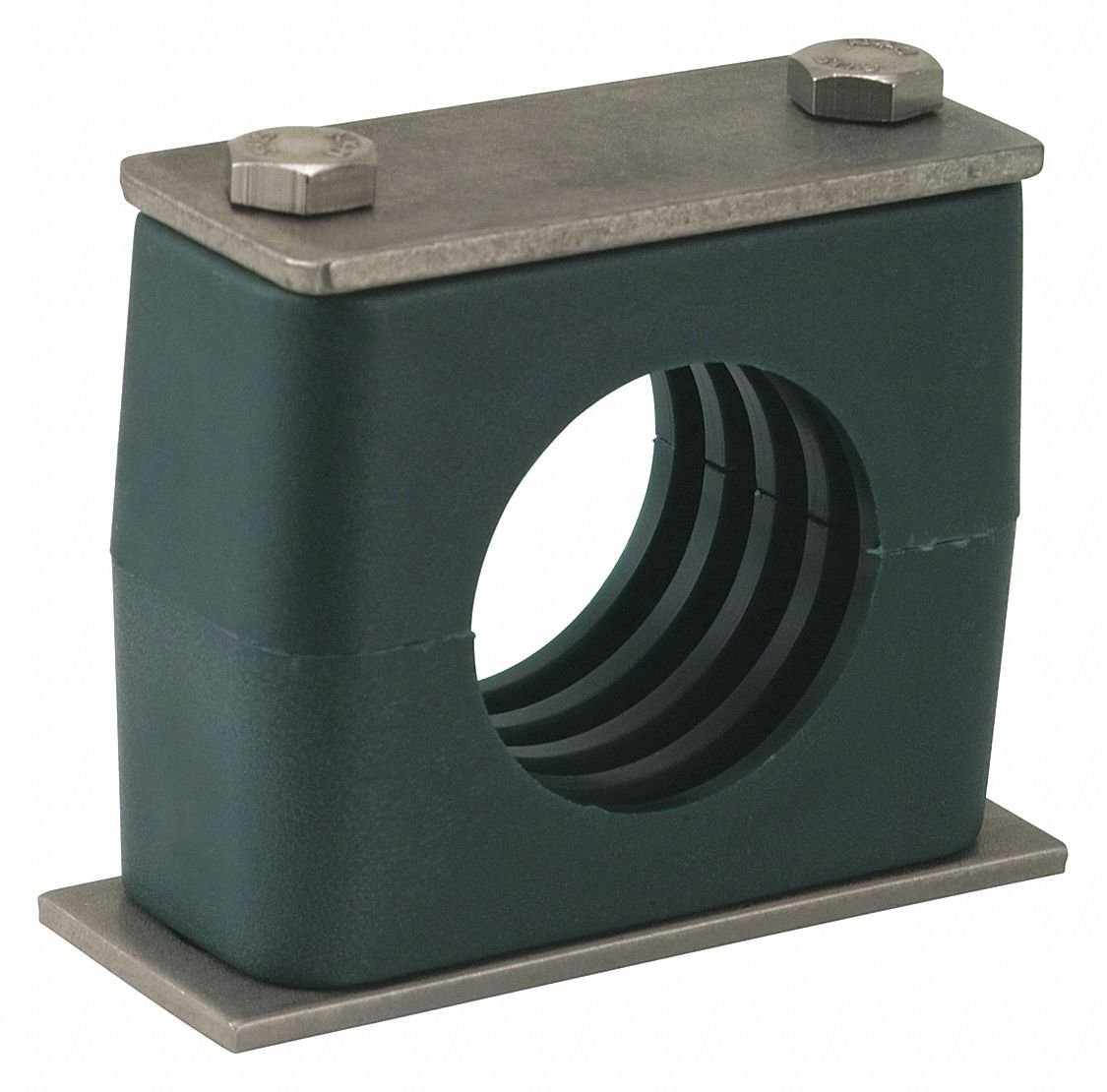 ZSI S-4017S-SS Beta Standard 3/4in Pipe Assembly, Poly Cushion, Stainless Hardware S4017S-SS