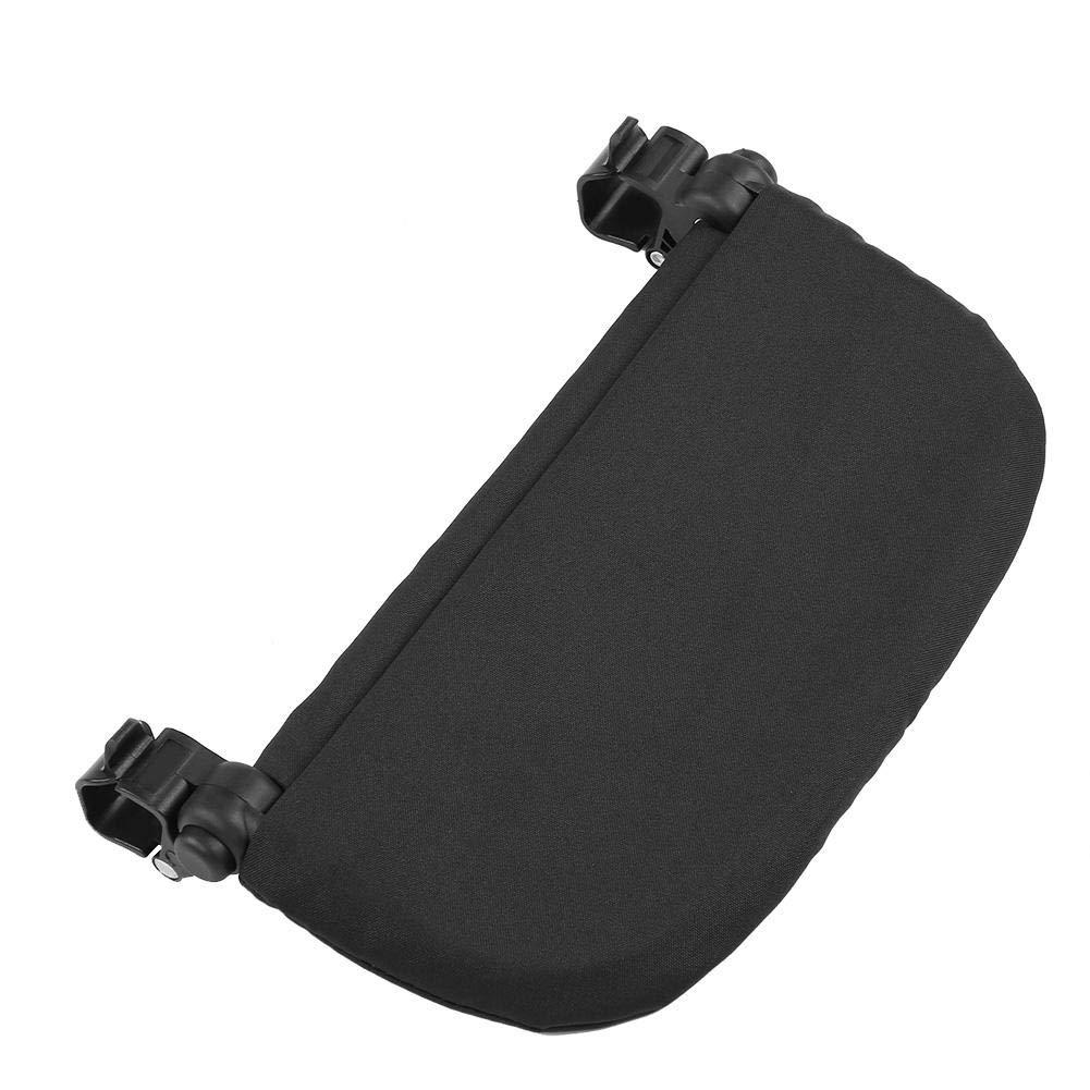 Noir Poussette b/éb/é 5.5 pouces Extension Repose-pieds Pieds Universels Extension Infant Landau Landau Pied Support Support Accessoire