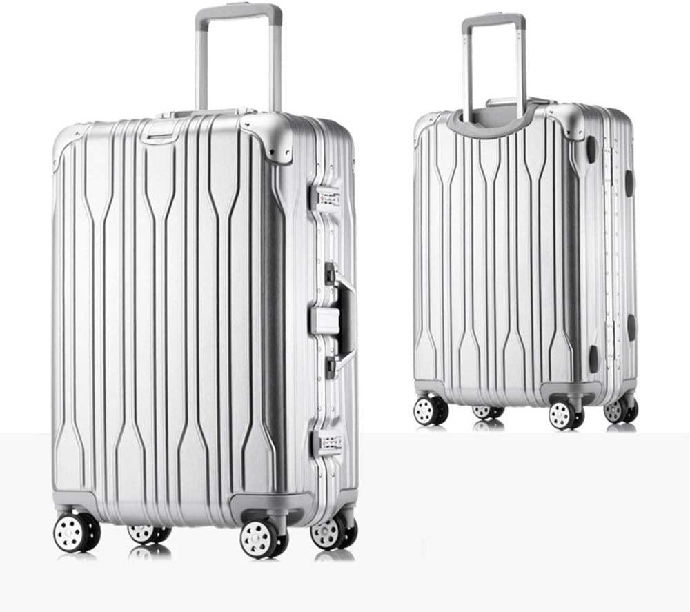 YJF Trolley Case Carry On Luggage Suitcase Spinner Hardshell Rolling with Wheels Built-in TSA Lock