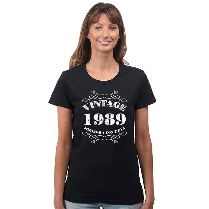 Clothing Vintage Shirt Compleanno Tidy T 30esimo Donna Bang Da tsQBrhdCx