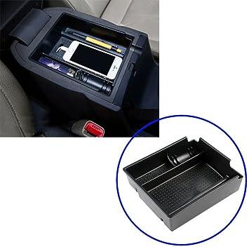 Apoyabrazos Consola Central con Caja de Almacenamiento para IX35 2011 - 2014 automática: Amazon.es: Coche y moto