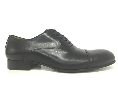 Zapatos hombre BEN.TER FRANCESINA FATTE PELLE NERO  F.CUOIO FATTE FRANCESINA MANO US16BT09 5c4301