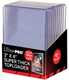 "Ultra Pro 3"" X 4"" Super Thick 180PT Toploader 10ct"