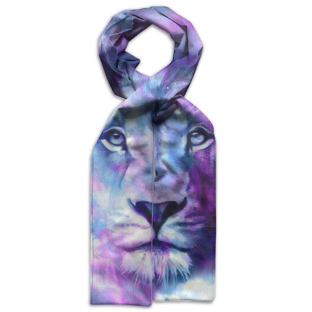 DGYEG44 Lion Printing Scarf Kids Warm Soft Fashion Scarf Shawl For Autumn Winter