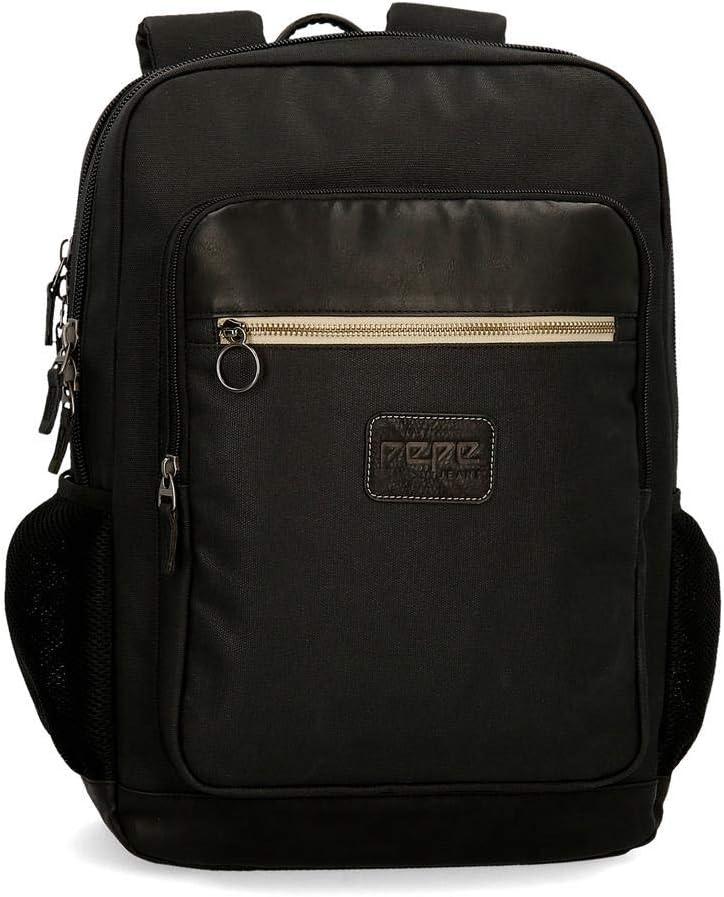 21 cm Bandolera Peque/ña Pepe Jeans 7775061 2.35 litros Negro