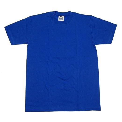 266e99c3 Amazon.com: Pro Club Comfort Mens Plain Blank Preshrunk 100% Cotton ...