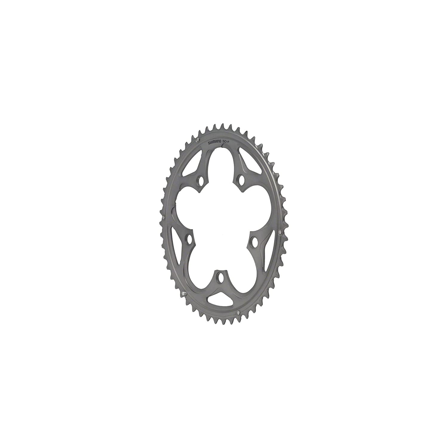 SHIMANO ULTEGRA 6750 34T X 110MM 10-SPEED SILVER BICYCLE CHAINRING