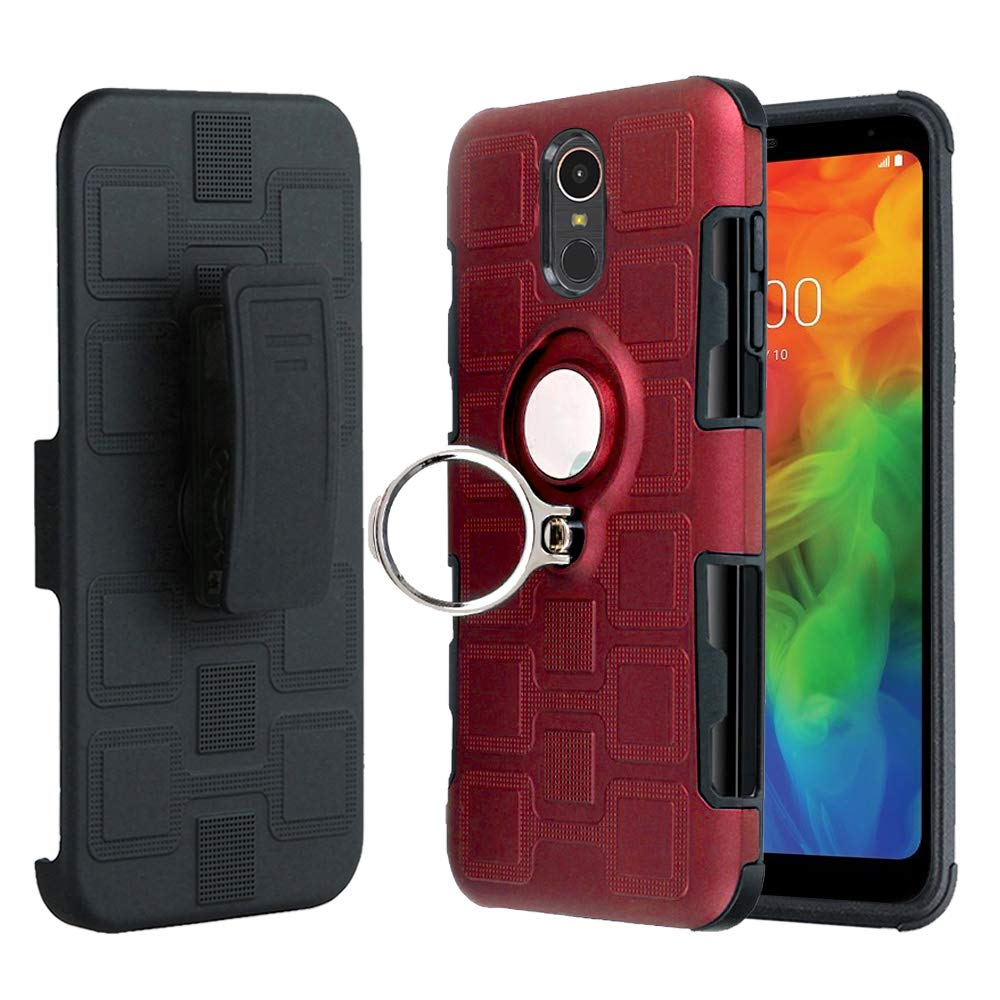 Funda Para Lg Q7 Plus - Techvibe (7q33ssvb)