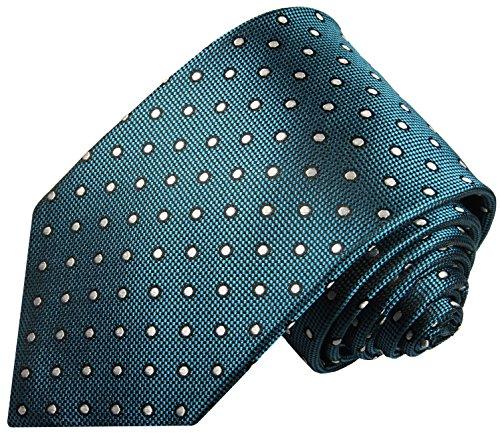 Cravate homme bleu vert ensemble de cravate 2 Pièces ( longueur 165cm )