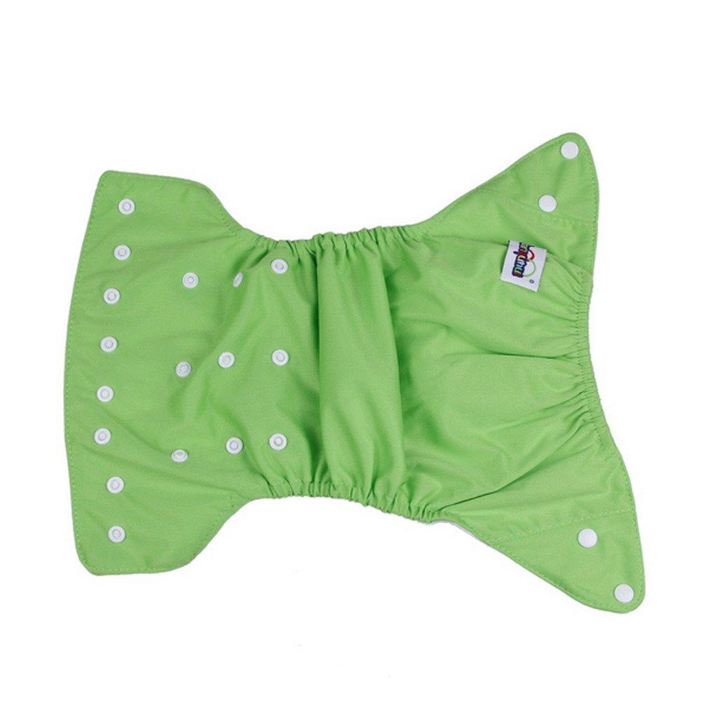 EOZY Ajustable Tamaño Unisexo Reutilizable Bañador Pañal De Tela Para Bebé Verde: Amazon.es: Juguetes y juegos