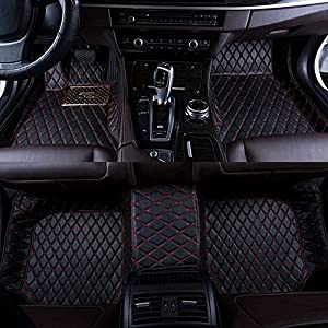 okutech custom fit luxury xpe leather waterproof 3d full car floor mats for bmw x5. Black Bedroom Furniture Sets. Home Design Ideas