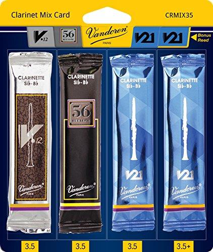 Vandoren CR8035 Bb Clarinet V21 Reeds Strength 3.5; Box of 10