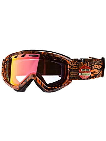 4097af2b01730 Smith Optics Sentry REG Orange W3 M006623AC99BY Adults  Skiing Goggles