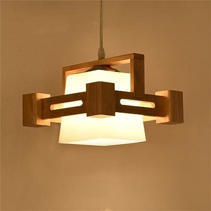 Lámparas de estilo rústico americano Lámpara japonesa de ...