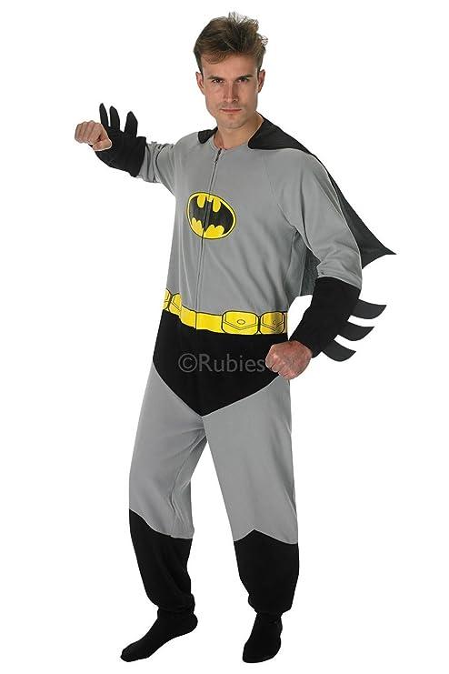 Rubies s Oficial de Hombre Batman Onesie, Adulto Disfraz - Grande ...