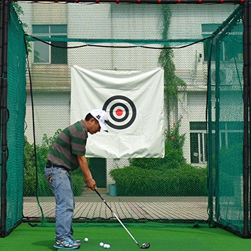 Review 10'x10'x10′ Golf Hitting Cage