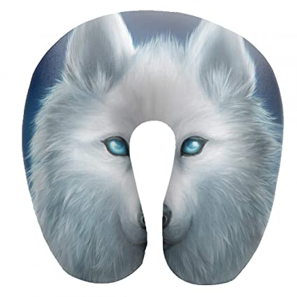 Amazon com: Travel Pillow - Supports Head and Neck - Perfect