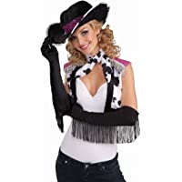 Forum Novelties Fringe Fringed Satin Gloves Showgirl 20'S Western Flapper Accessory Womens Adult