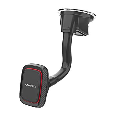 Buy Car Phone Holder Mount With 6 Strong Magnets Windshield Phone Magnetic Holder Suction Cup Phone Holder For Car Dashboard Magnet Holder Fit Most Smartphones Mini Tablets Large And Heavy Devices Online In