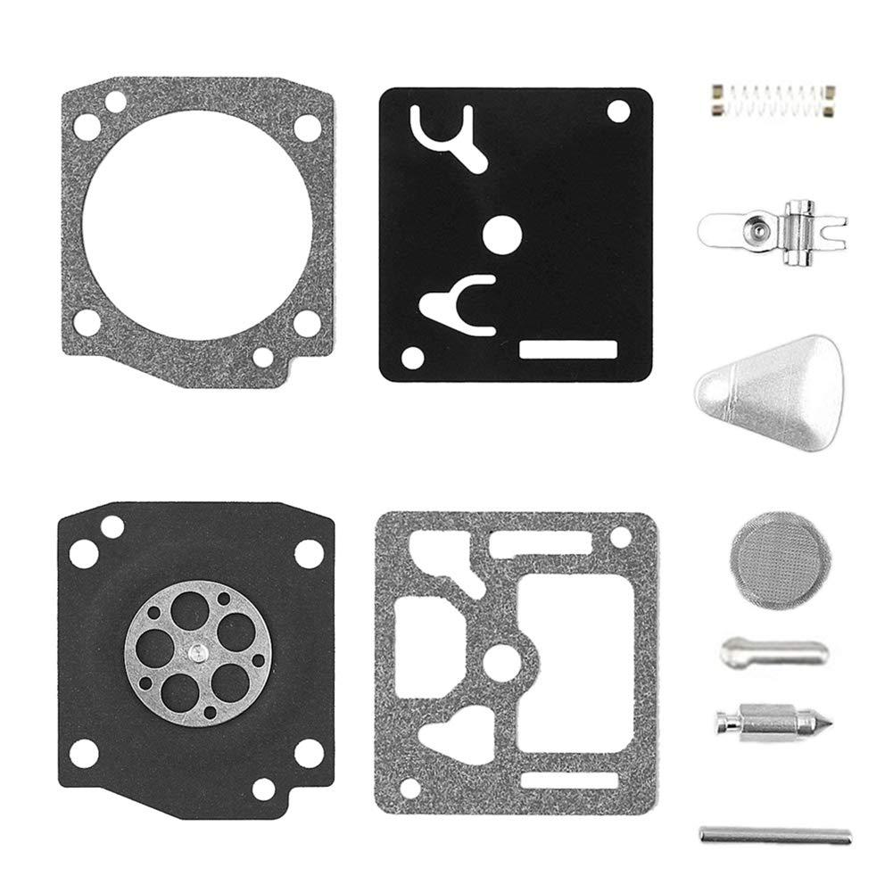 Parrshop Joint diaphragme de carburateur Rebuild kit de r/éparation pour Rb-31/Stihl 034/MS340/036/Ms360/044/Zama C3/a S4/A S19/S25/S26/S27/S31/S38/S39/S52/S65