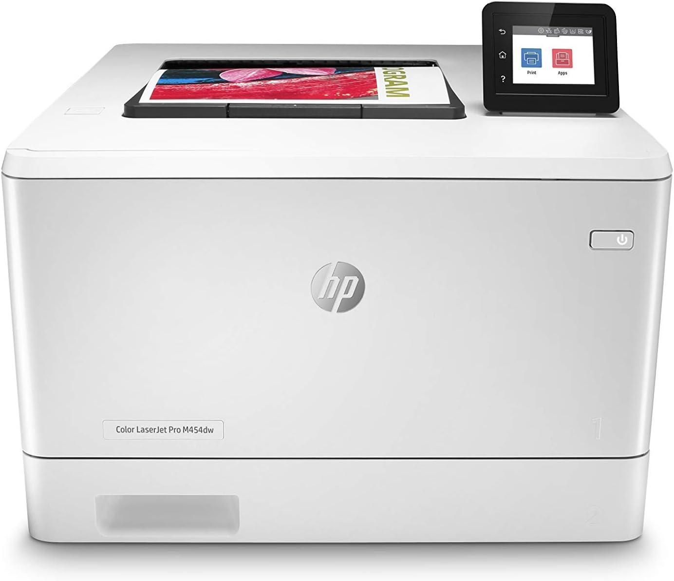 HP Color LaserJet Pro M454dw Printer (W1Y45A) (Renewed)
