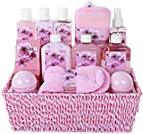 "Premium Deluxe ""Complete Spa at Home Experience"" Gift Basket by Draizee – #1 Best Gift – Large Luxury Skin Care Set with Tons of Lotions, Creams, Bath Bombs, Socks & Much More! For Sale"