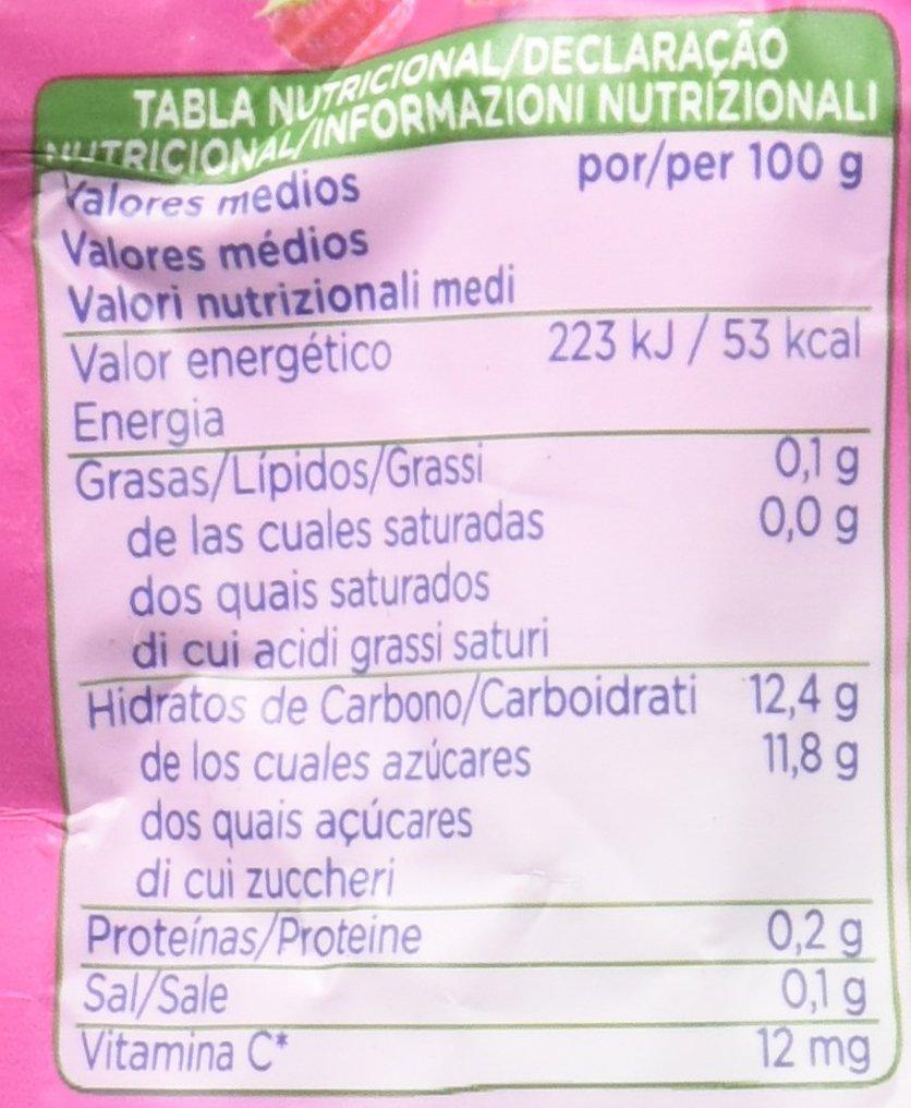 Hero - Bolsita De Fruta Nanos 100 g gelatina Frutas Del Bosque - [pack de 9]: Amazon.es: Alimentación y bebidas