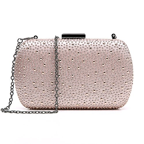 Cristal De BAILIANG Main Soirée De PU Femme Sac De D'embrayage Sac à Pink Populaire Mode qHXZvwrH