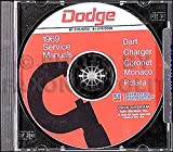 1969 Dodge CD Repair Shop Manual for Charger/Dart/Polara/Monaco/Coronet 69
