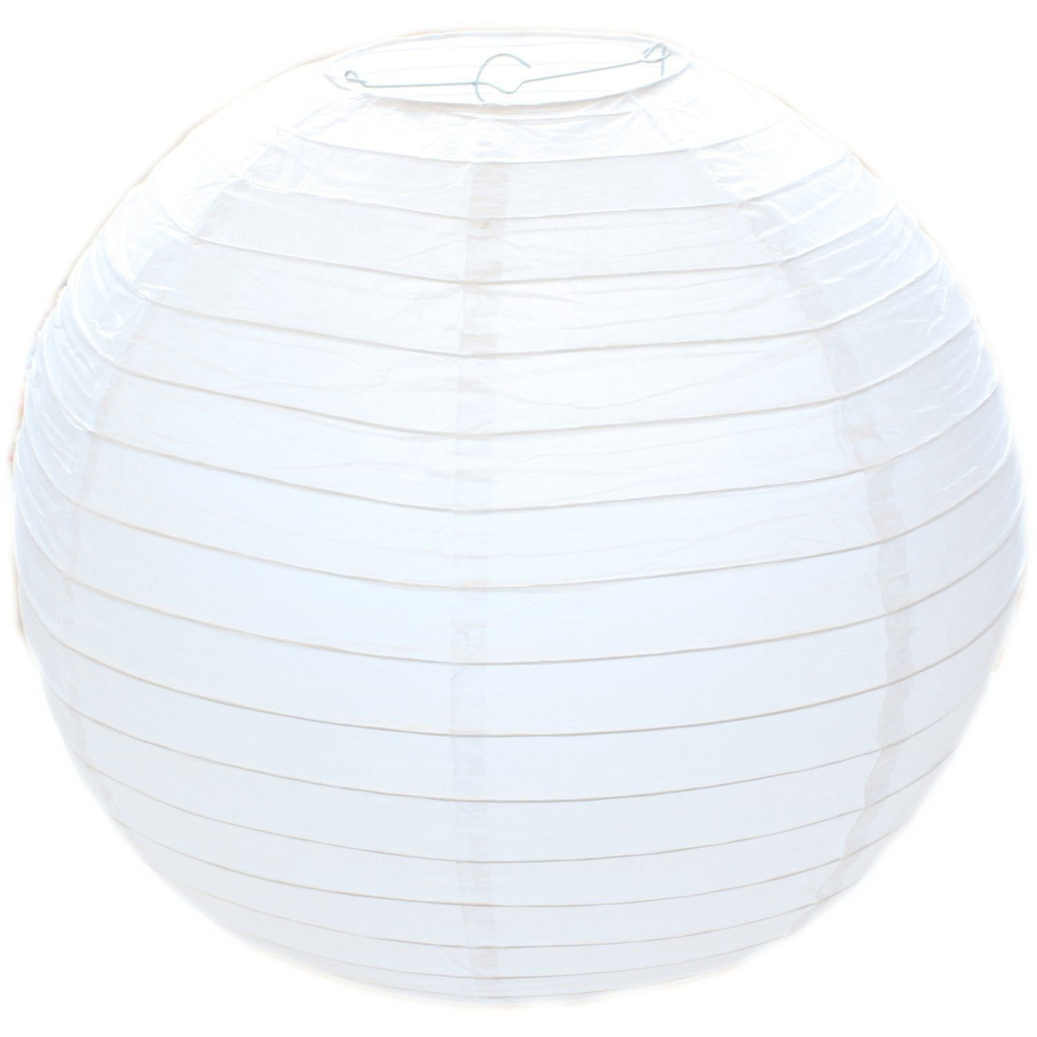 50cm white paper lampshade classic bamboo style ribbed paper 50cm white paper lampshade classic bamboo style ribbed paper lantern lamp shade amazon kitchen home mozeypictures Image collections