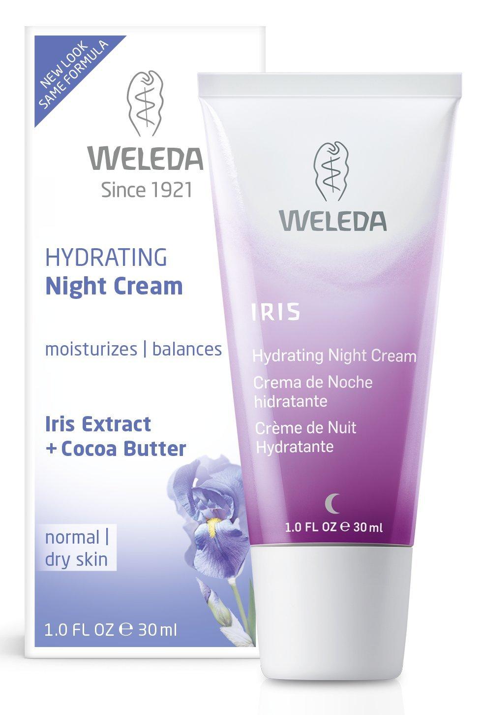 Weleda Hydrating Night Cream, 1-Fluid Ounce