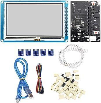"4.3/"" 5/"" 7/"" Colour Touch Screen PanelDue Controller For DuetWifi 3D Printer KA"