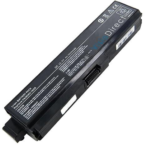 Visiodirect Batería 10.8V 6600mAh para ordenador portátil TOSHIBA Satellite Pro L650-15P
