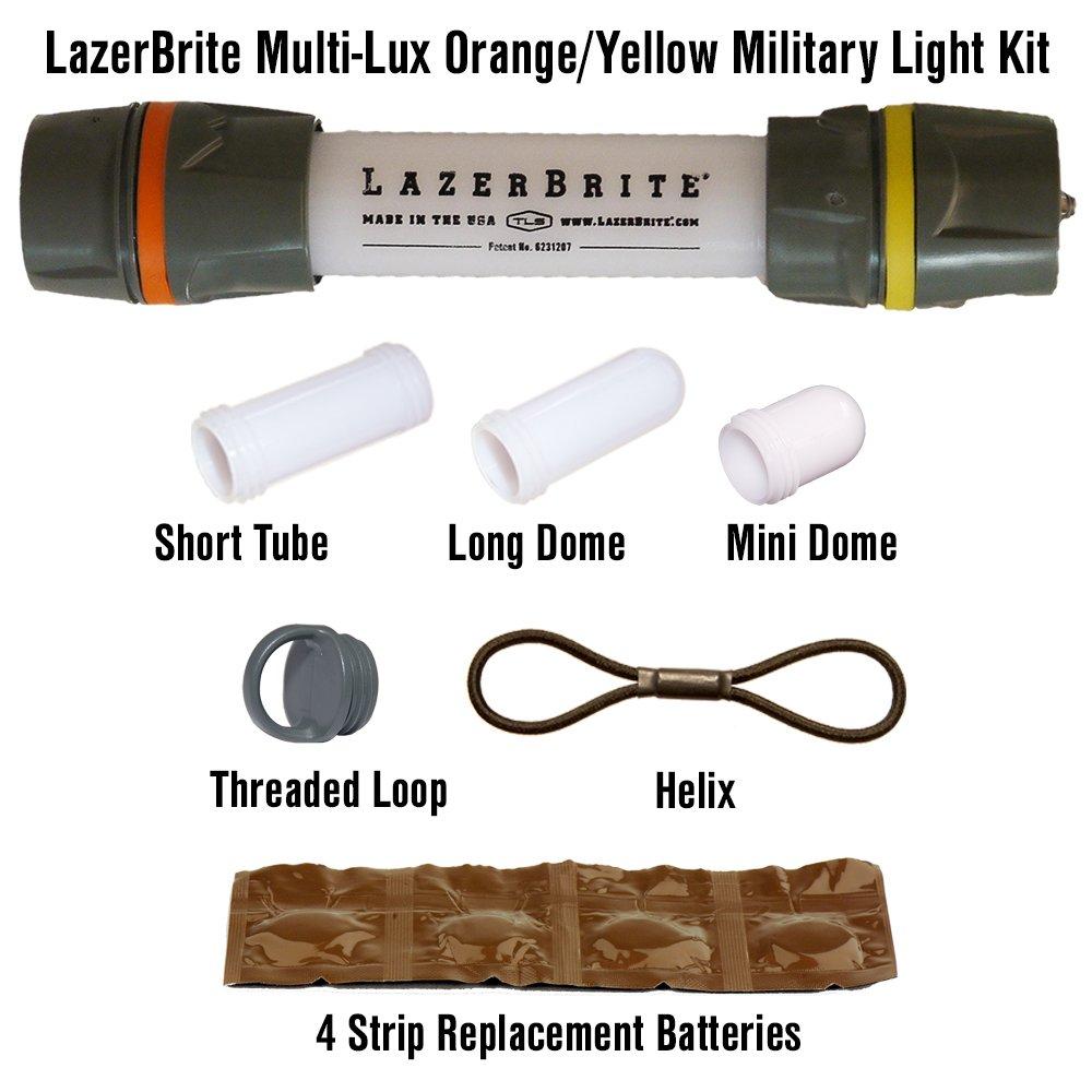 Lazerbrite Multi Lux Orange/Yellow Military Light Kit by Lazerbrite (Image #1)