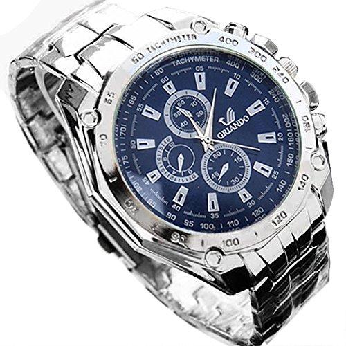 Zippem Men Watches Business, Quartz Waterproof Wristwatch, Sport Design Wrist Watchs for Men Gift