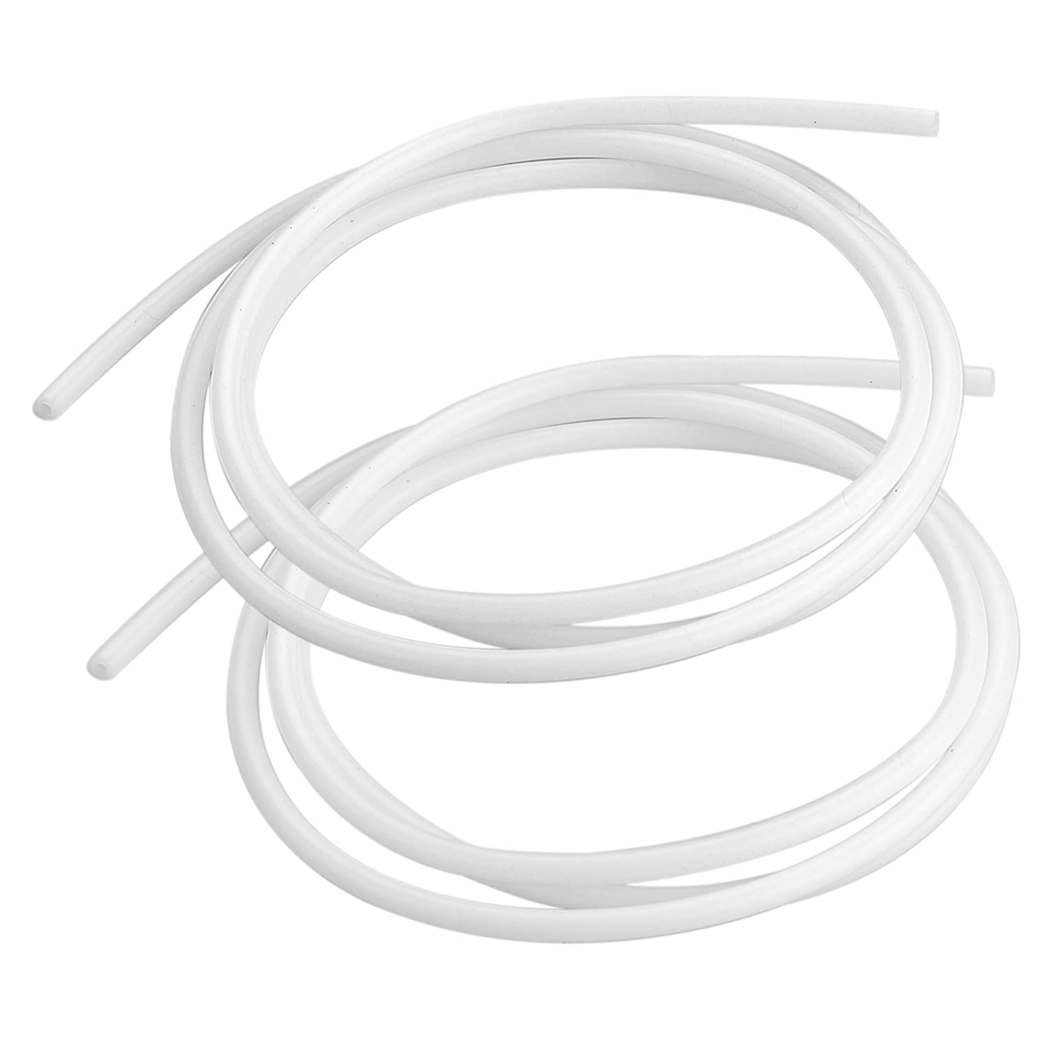 SIENOC 2x 1M PTFE Teflon Tube 2mm ID 4mm OD For 1.75mm Filament 3D Printer