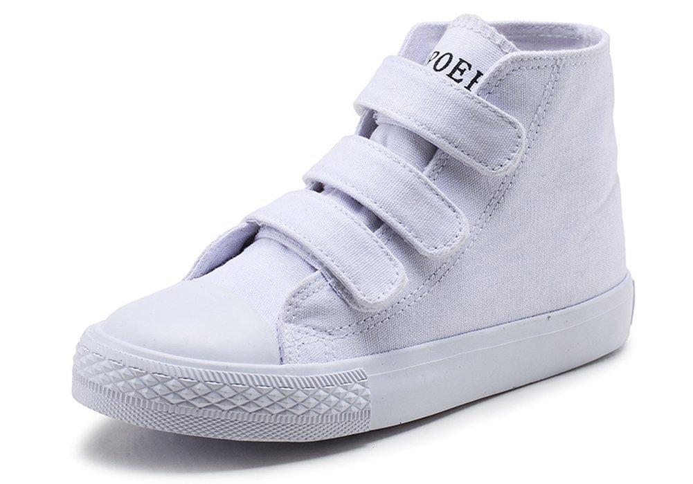 iDuoDuo Kids Classic School Board Shoes Casual High Top Basketball Sneakers (Toddler/Little Kid/Big Kid)