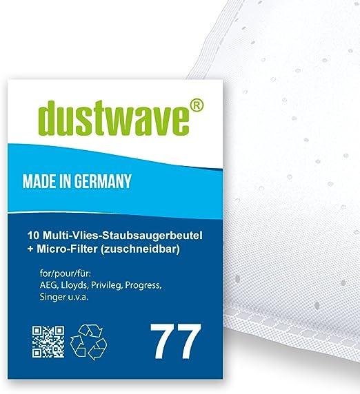 20 dustwave® bolsas para aspiradora AEG Vampyr 700 - 799 Serie ...