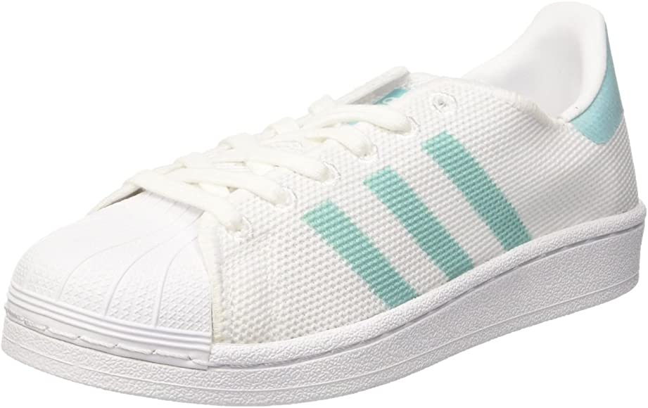 adidas Superstar W, Scarpe da Basket Donna, Bianco Footwear