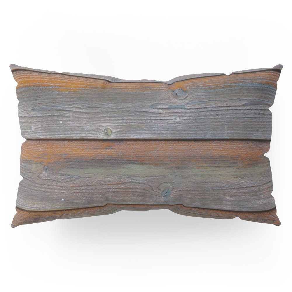 Society6 Rustic Wood Panel Boards Aged In Wyoming Pillow Sham King (20'' x 36'') Set of 2