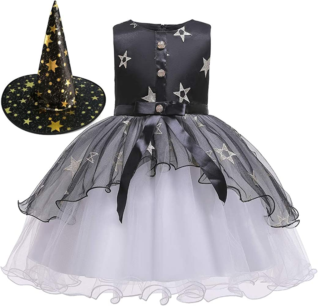 Fairy Baby Hechicera Disfraz De Halloween Vestir para Chicas Negro ...